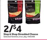 Stop & Shop Shredded Cheese