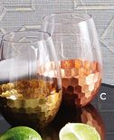 Copper Stemless Glass