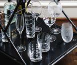 E-K. Mikasa Cheers Glassware