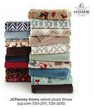 JCPenney Home Velvet Plush Throw