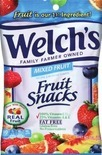 Gummi Candy or Welch's Fruit Snacks