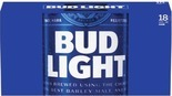 18-Pack Bud Light, Budweiser, Miller or Coors Products