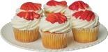 Store Made Strawberry Shortcake Cupcakes