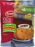Tyson Chicken Nuggets, Tenders or Patties