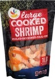 Large Cooked Cocktail Shrimp