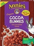 Annie's Cereal, Bars or Fruit Snacks