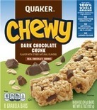 Quaker Chewy Bars