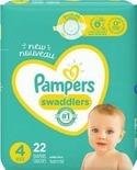 Pampers or Always My Baby Jumbo Pack Diapers