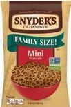 Late July Tortilla Chips or Snyder's of Hanover Pretzels