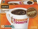 Dunkin Donuts, Folgers or Cafe Bustelo Coffee