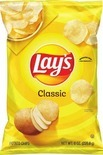 Lay's Potato Chips or Smartfood