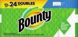 Bounty Paper Towels or Tide Laundry Detergent