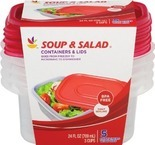 Stop & Shop Storage Containers