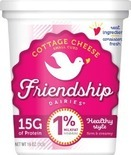Friendship Cottage Cheese or Goya Queso