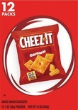 Cheez‑It Family Size or 12 Pack