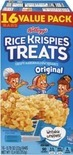 Kellogg's Nutri-Grain Bars or Rice Krispies Treats Value Pack