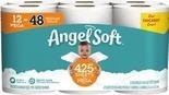 Brawny 6XL Roll or Angel Soft 12 Mega Roll