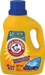 Arm & Hammer Laundry Detergent or Fabric Enhancers