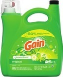 Gain Laundry Detergent or Fireworks Scent Boosters