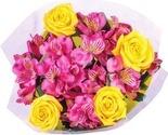 Alstroemeria & Rose Bouquet