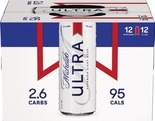 Michelob Ultra or Beck's 12 Pack