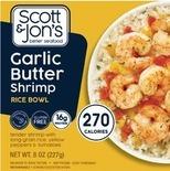 Scott & Jon's Shrimp Bowl or Sea Watch Clam Strips