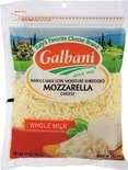 Galbani Shredded Mozzarella Cheese
