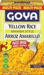 Goya Yellow Rice Multipack