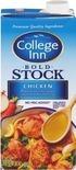 College Inn Stock or Broth