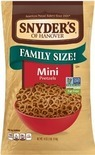 Cape Cod Potato Chips, Snyder's of Hanover Pretzels or Cheez-it Snack Crackers