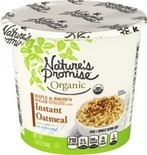 Nature's Promise or Quaker Real Medley Oatmeal