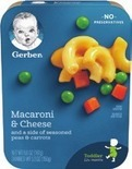 Gerber Toddler Meals or Sides
