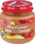 HappyBaby Jars or Beech-Nut Jars or Pouches