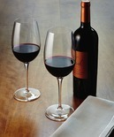 Luigi Bormioli Michaelangelo Masterpiece Set of 4 Wine Glasses