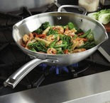 "Calphalon Classic 12"" Stainless Steel Stir-Fry Pan"
