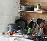 Calphalon Contemporary 11-Pc. Hard-Anodized Nonstick Cookware Set