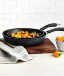 Hard-Anodized Nonstick Fry Pan Set