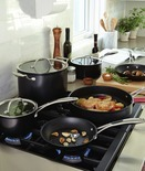 10-Pc. Hard-Anodized Cookware Set