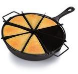 Cooks Cast Iron Cornbread Skillet Set