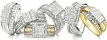 1 Ct. T.W. Diamond In 10k Gold