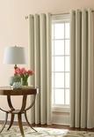 """Liz Claiborne Kathryn 50x84"""" Room-Darkening Grommet-Top Curtain"""