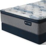 Serta Blue Fusion 300 Super Pillow Top Queen Mattress Set