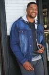 Collection By Michael Strahan Denim Jacket