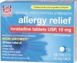 RITE AID® Cough, Cold and Allergy Relievers