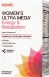 GNC Mega Men and Women's Ultra Mega Multivitamins and Vitapaks