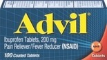 Advil or Advil PM or Zen Relief Balm, PainBloc 24, Adult DayQuil or NyQuil or Simply Saline