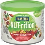 Planters NUT•rition, Cashew Pieces or Mixed Nuts