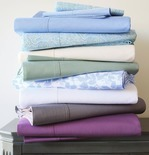 Easy Care 290tc Percale Twin Sheet Set
