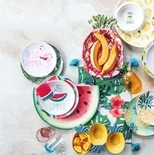 Outdoor Oasis Melamine Dinnerware & Beverageware