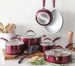 Cooks 12-pc. Ceramic Nonstick Set